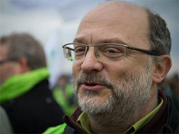 Dominique Perrin conseiller communal chef de groupe Ecolo Flémalle